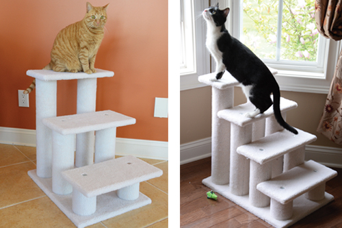 Charmant Check Out Armarkat For Truly Beautiful Staircases Designed To Give Your Cat  A Leg Up!