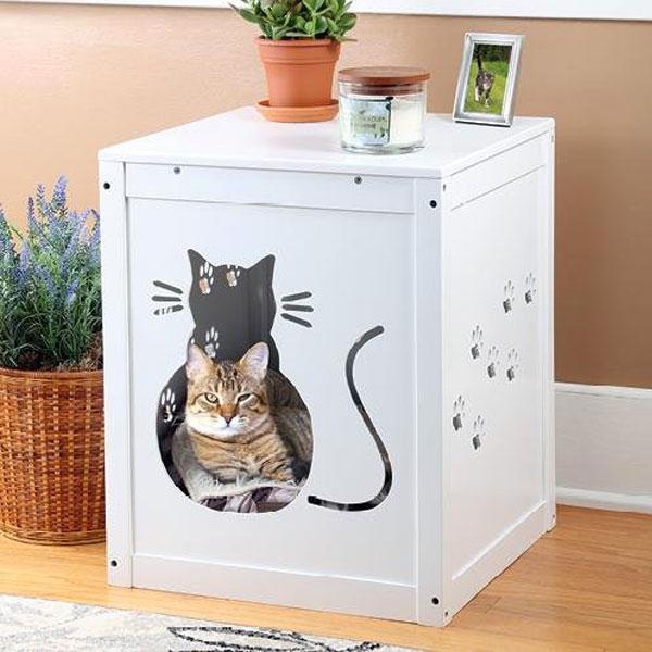 That S A Litter Box Modern Cat